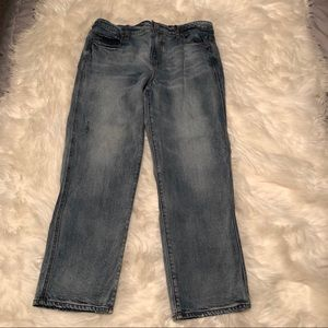Ann Taylor Loft Lived and Loved Crop Jeans Sz 28